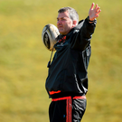 Munster coach Anthony Foley will be hoping for a strong end to his team's season (SPORTSFILE)
