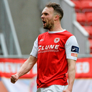 Conan Byrne scored twice Photo: Sportsfile