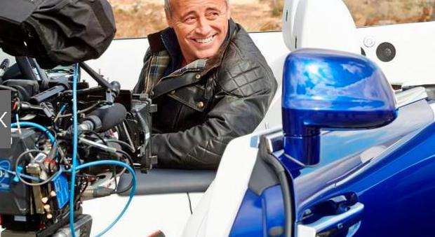 Matt LeBlanc filming Top Gear in Kerry. PIC: BBC Pictures