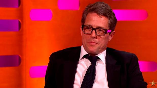 Hugh Grant on The Graham Norton Show
