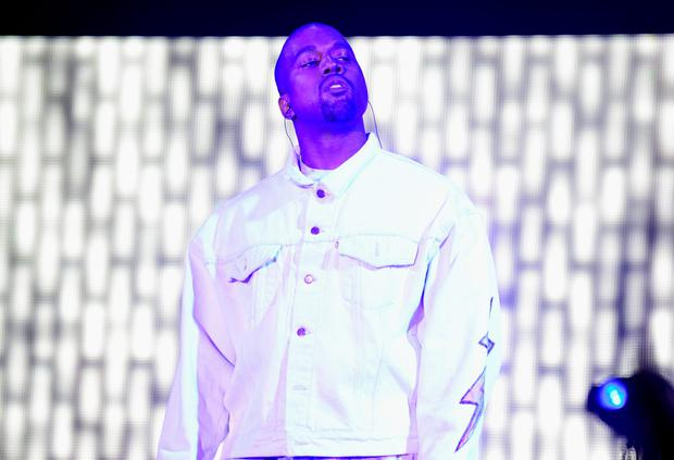 INDIO, CA - APRIL 15: Rapper Kanye West performs onstage with A$AP Rocky during day 1 of the 2016 Coachella Valley Music & Arts Festival Weekend 1 at the Empire Polo Club on April 15, 2016 in Indio, California. (Photo by Frazer Harrison/Getty Images for Coachella)