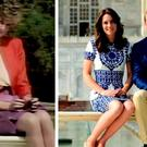 William and Kate pose on same iconic Taj Mahal bench as Diana