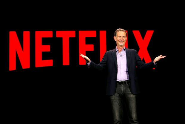 Reed Hastings, co-founder and CEO of Netflix