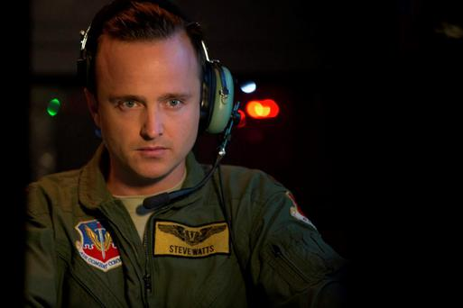 'Breaking Bad' star Aaron Paul in 'Eye in the Sky'.