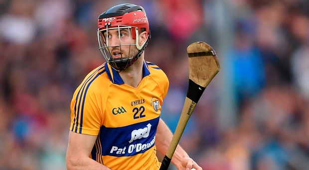 4 July 2015; Darach Honan, Clare. GAA Hurling All-Ireland Senior Championship, Round 1, Clare v Offaly. Cusack Park, Ennis, Co. Clare. Picture credit: Stephen McCarthy / SPORTSFILE