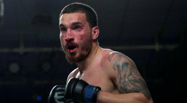 Portuguese MMA fighter Joao Carvalho. Photo: Dave Fogarty