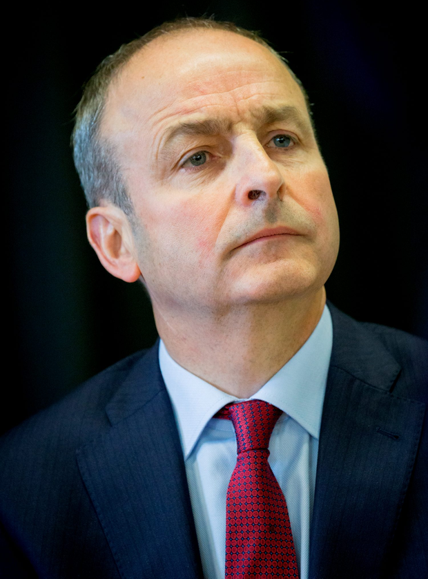 Fianna Fail leader Micheal Martin Photo: Dylan Vaughan