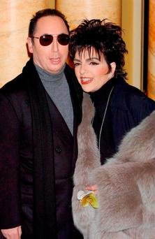 Not made in Heaven: David Gest with his then wife Liza Minnelli. Photo: Yui Mok/PA Wire