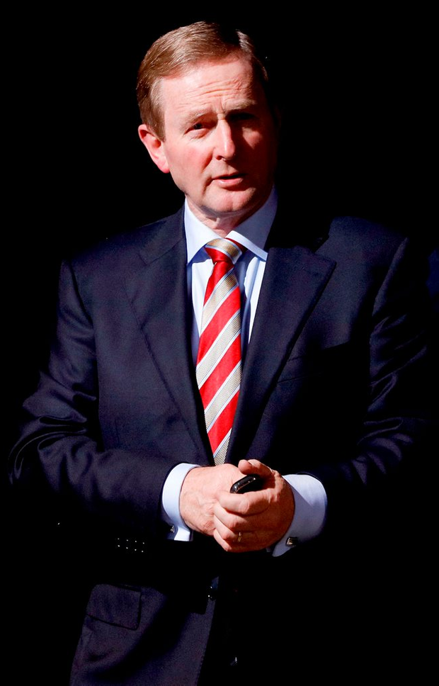 'The only option available is a Fine Gael-led minority government under the leadership of Enda Kenny' Photo: Maxwell Photography