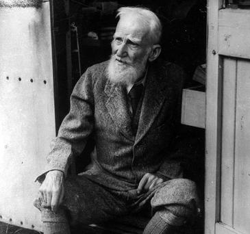 George Bernard Shaw. (Part of the NPA/Independent Collection)