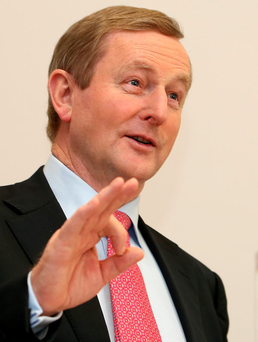 'Is it about time we asked: is the criticism of Enda Kenny fair?' Photo: Tom Burke