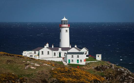 Fanad Lighthouse Co. Donegal. Photo: Brian McDaid