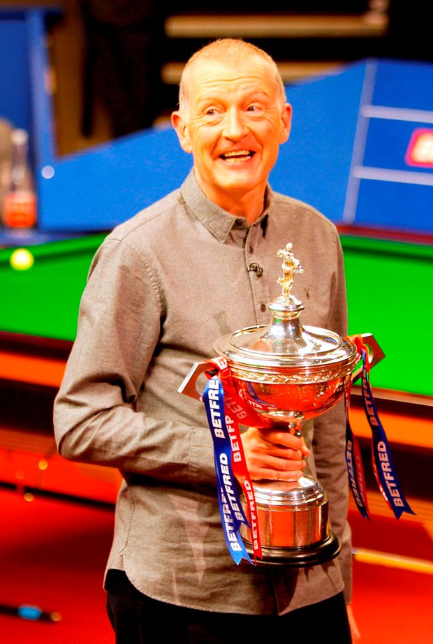 Steve Davis has retired. Photo: PA