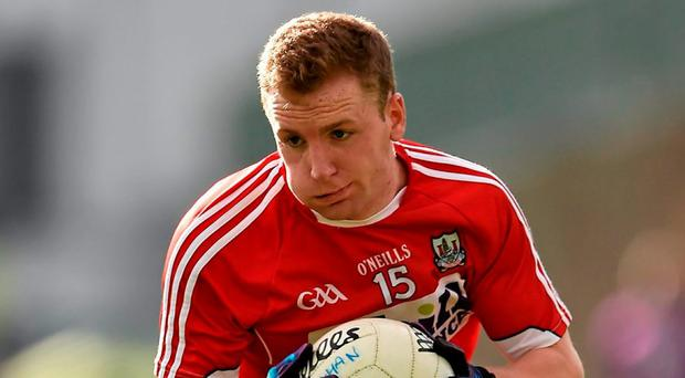 Hurley: Cork's man of the match. Photo: Brendan Moran / Sportsfile