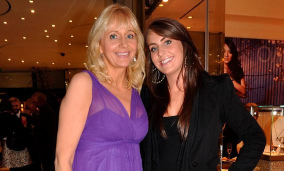 Miriam O'Callaghan and daughter Alannah McGurk