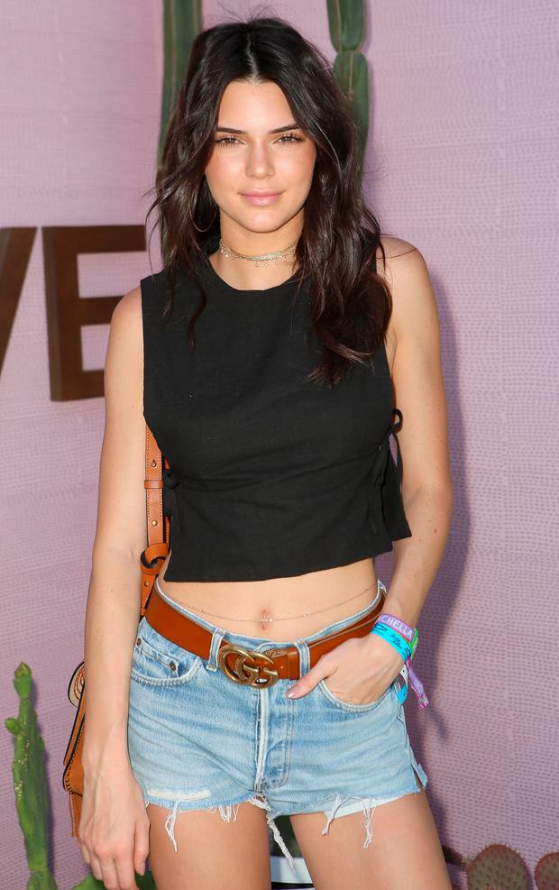 Model Kendall Jenner attends REVOLVE Desert House on April 17, 2016 in Thermal, California. (Photo by Ari Perilstein/Getty Images for A-OK Collective, LLC.)