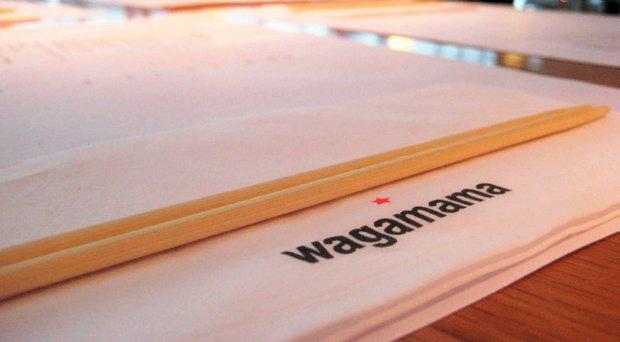 Wagamama restaurant. File picture
