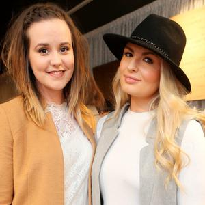 Niamh Kelly and Louise O'Reilly at Kildare Village for the official launch of Só Collective. Picture: Leon Farrell/Photocall Ireland.