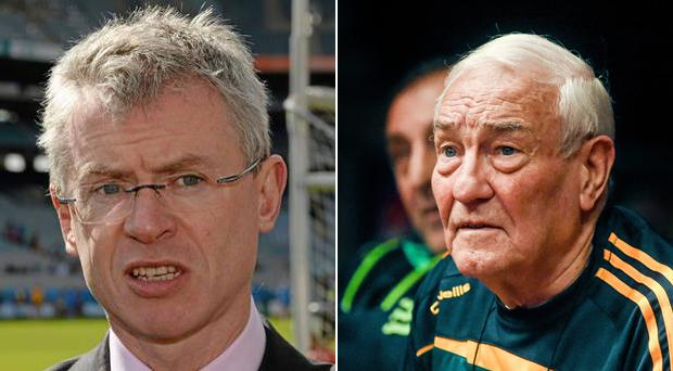 Joe Brolly's opinions on MMA and professional boxing have been dismissed by renowned coach Gerry Storey