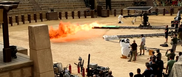 Behind-the-scenes look at season five of Game of Thrones. Photo: Game of Thrones / YouTube