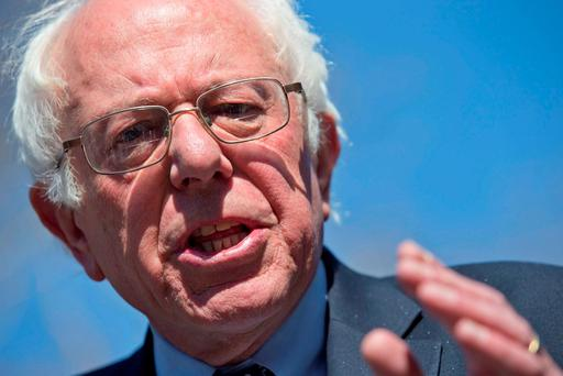 Bernie Sanders. (AP Photo/Mary Altaffer)