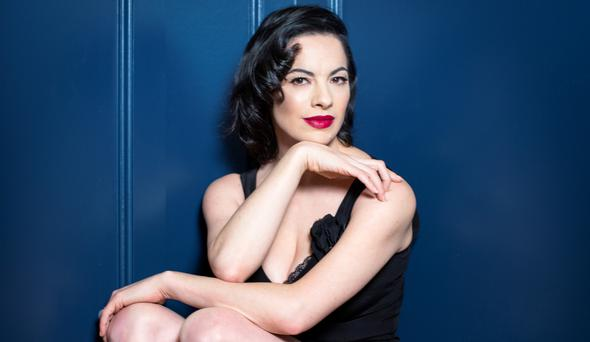 Camille O'Sullivan is playing 'Rock Against Homelessness' in the Olympia Theatre on April 24. Photo: Kip Carroll