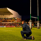 Connacht coach Pat Lam watches on during the closing stages of the win over Munster. Photo: Sportsfile