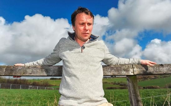 Peter Kingston at his home, adjacent to his family farm in Nohoval, Co Cork. Photo: Daragh McSweeney/Provision