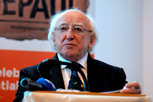 President Higgins' has publicly stated that he is 'very, very well aware' of Article 13 of the constitution which gives him the 'absolute power' to decide whether the Dáil should be dissolved if the Taoiseach tells him a government can't be formed Photo: Caroline Quinn