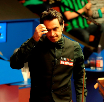 O'Sullivan: Battled through. Photo: PA