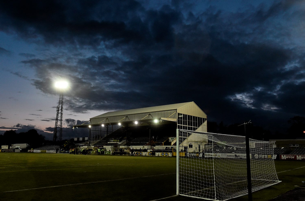 A solitary 114th-minute goal from Rory Feely proved to be enough as St Patrick's Athletic beat Dundalk at Oriel Park last night. Photo: Sportsfile