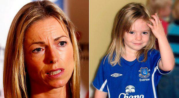 Madeleine McCann (right) and her mother Kate