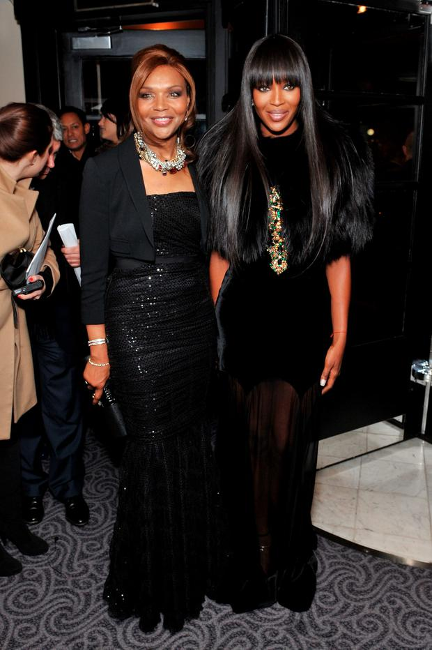 Naomi Campbell's 64-year-old mother Valerie is so youthful