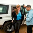 Samantha Power in Cameroon