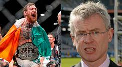 Joe Brolly wants MMA and professional boxing to be banned