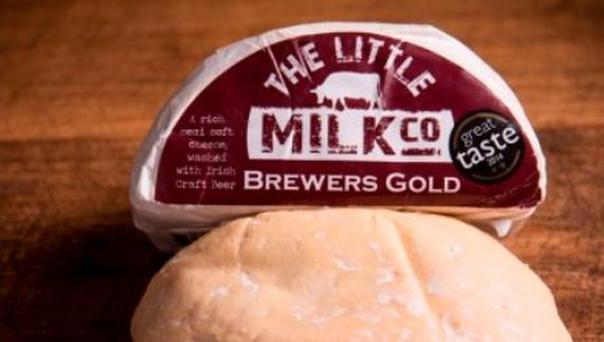 The Little Milk Company Brewers Gold cheese