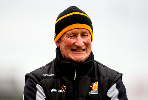 Brian Cody may have grimaced watching his Kilkenny team lose by 10 points to Clare, but the Cats boss won't be getting carried away by the giddiness surrounding the Banner's victory. Photo: Sportsfile