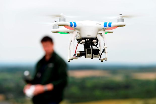 'It won't be long before drones are a genuine menace.' Photo: Andrew Matthews/PA Wire