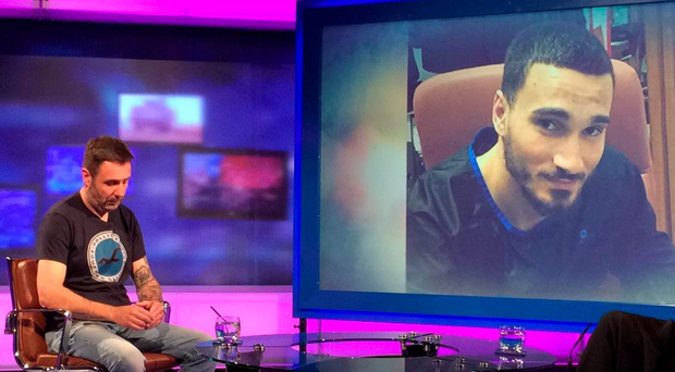 Alex Silvestre speaks in the first interview since his brother Joao Carvalho's death (PHOTO: RTE Primetime)