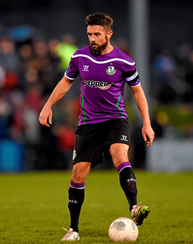 The returning Stephen McPhail (pictured) and Danny North combined to set up substitute Sean Boyd to score a crucial second goal in first-half injury-time. Photo: Sportsfile