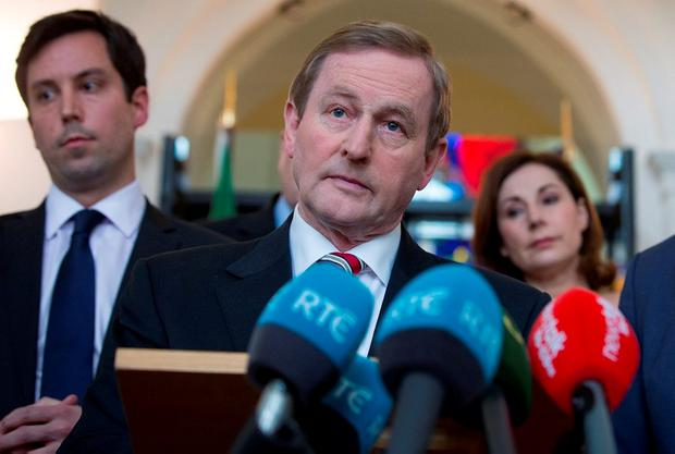 It has been well-flagged that Mr Kenny has told Independent TDs he is prepared to appoint a Minister for Rural Affairs. Picture: Arthur Carron
