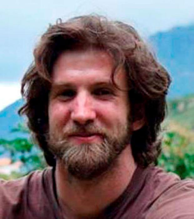 Harry Greaves, a British tourist missing in Peru for more than a week. Lucie Blackman Trust/PA Wire