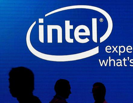 Intel employs more than 5,200 people in Ireland, mainly in Leixlip, Co Kildare, but also in Shannon and Belfast. REUTERS/Pichi Chuang/File photo