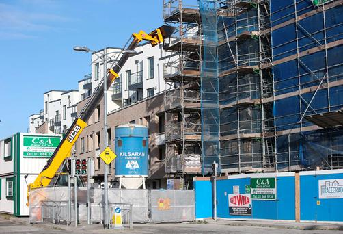 Priory Hall apartments in Donaghmede, Dublin under construction, the development will be renamed as 'New Priory Donaghmede. Picture credit: Damien Eagers