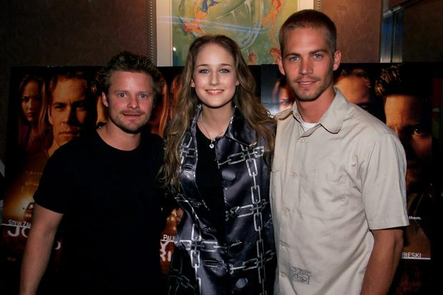 (l to r) Steve Zahn, Leelee Sobieski , and Paul Walker arrive to a special screening of