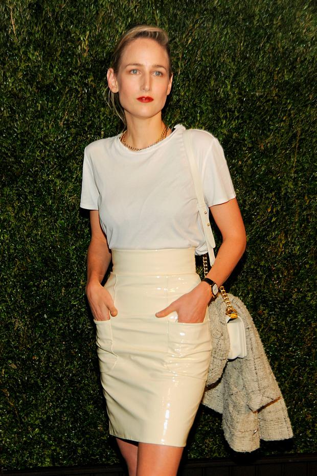 Actress Leelee Sobieski attends 11th Annual Chanel Tribeca Film Festival Artists Dinner at Balthazar on April 18, 2016 in New York City. (Photo by Rabbani and Solimene Photography/Getty Images)