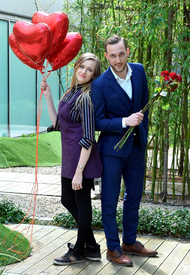Alice Marr and Mateo Saina of First Dates Ireland