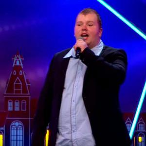 Nick Nicolai auditions for Holland's Got Talent