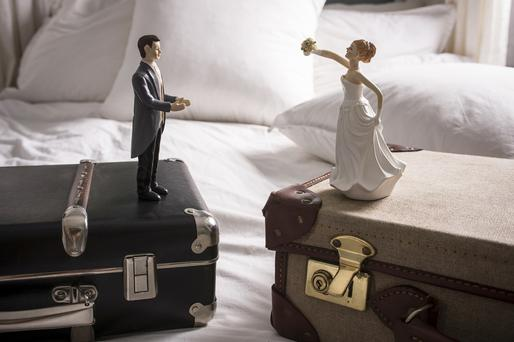 New figures compiled by the RTE's Primetime Investigations Unit found that the rate of divorce has dropped substantially in recent years