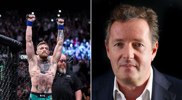 Piers Morgan is unimpressed with Conor McGregor's apparent retirement